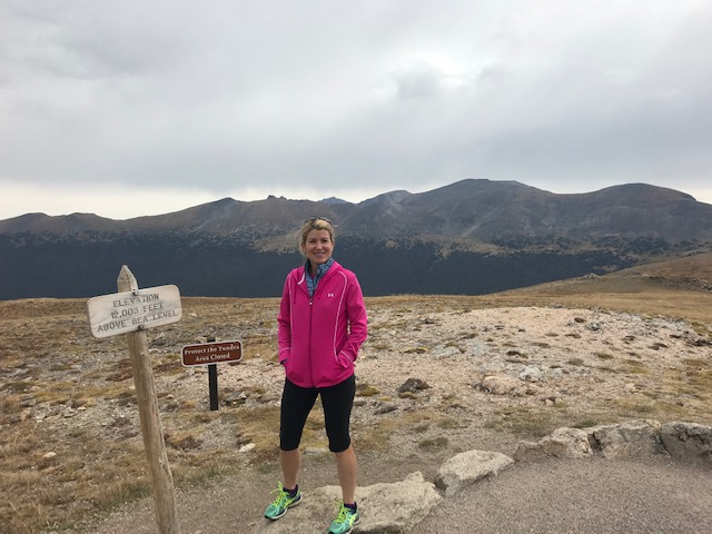 Bobbi Kahler at Rock Mountain National Park